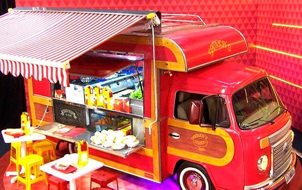 Berta Cozinhas e seus equipamentos de food truck na Globo - Berta